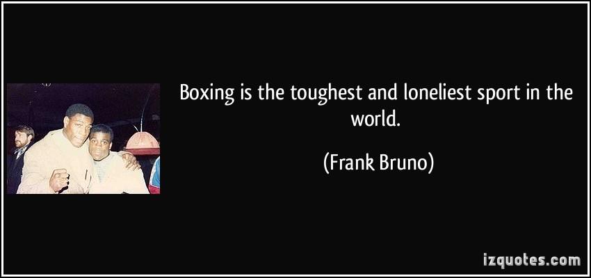 Frank Bruno's quote #6