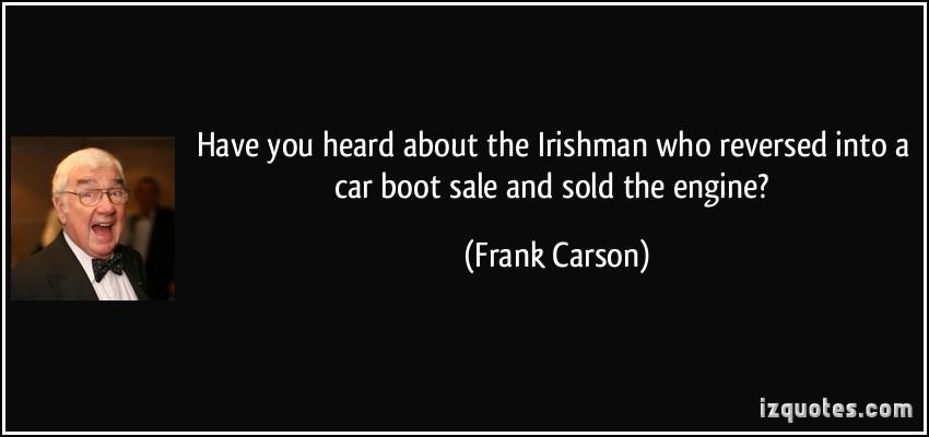 Frank Carson's quote #2