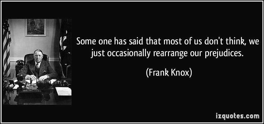 Frank Knox's quote #2