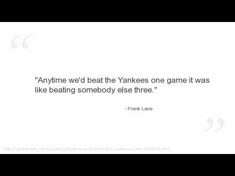 Frank Lane's quote #1