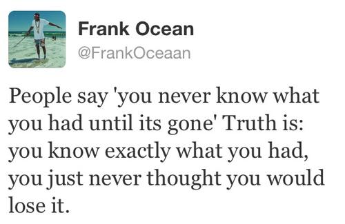 Frank Ocean's quote #7