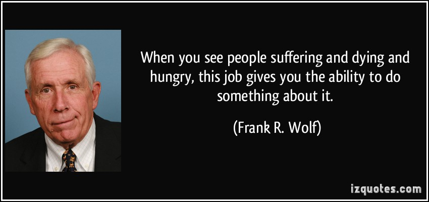 Frank R. Wolf's quote