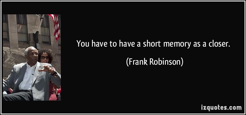 Frank Robinson's quote #8