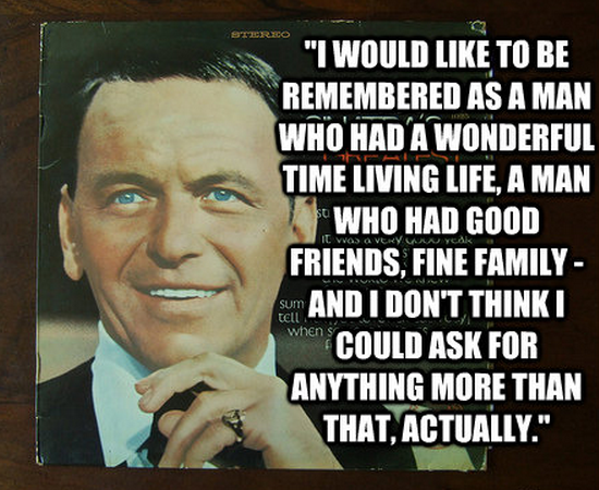 Frank Sinatra quote #2
