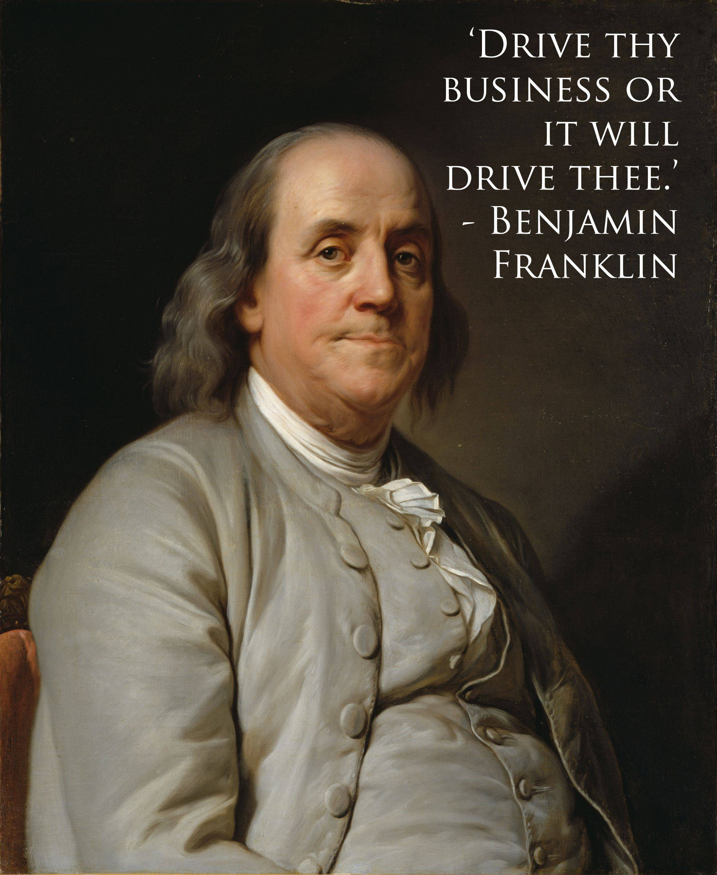 Franklin quote #1