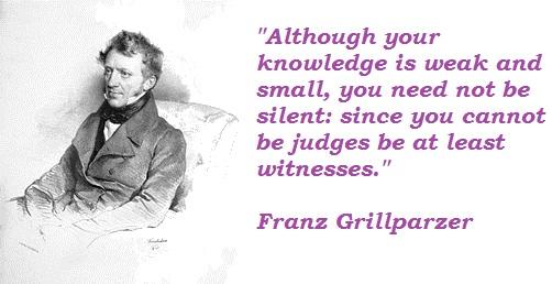 Franz Grillparzer's quote #2