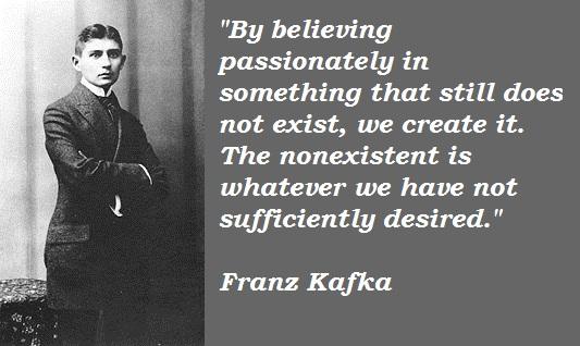 Franz Kafka's quote #2