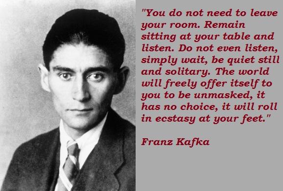 Franz Kafka's quote #4