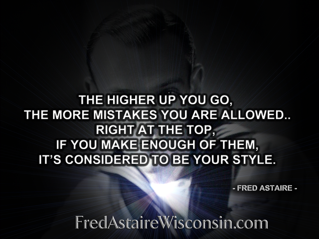 Fred Astaire quote #1