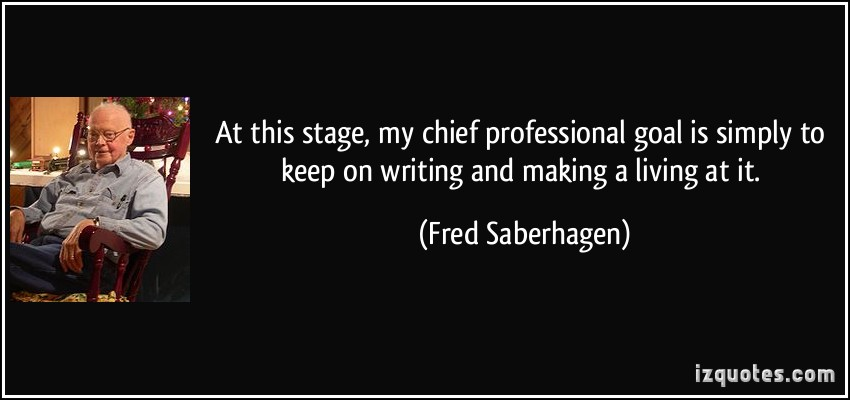 Fred Saberhagen's quote #4