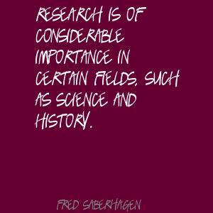 Fred Saberhagen's quote #1
