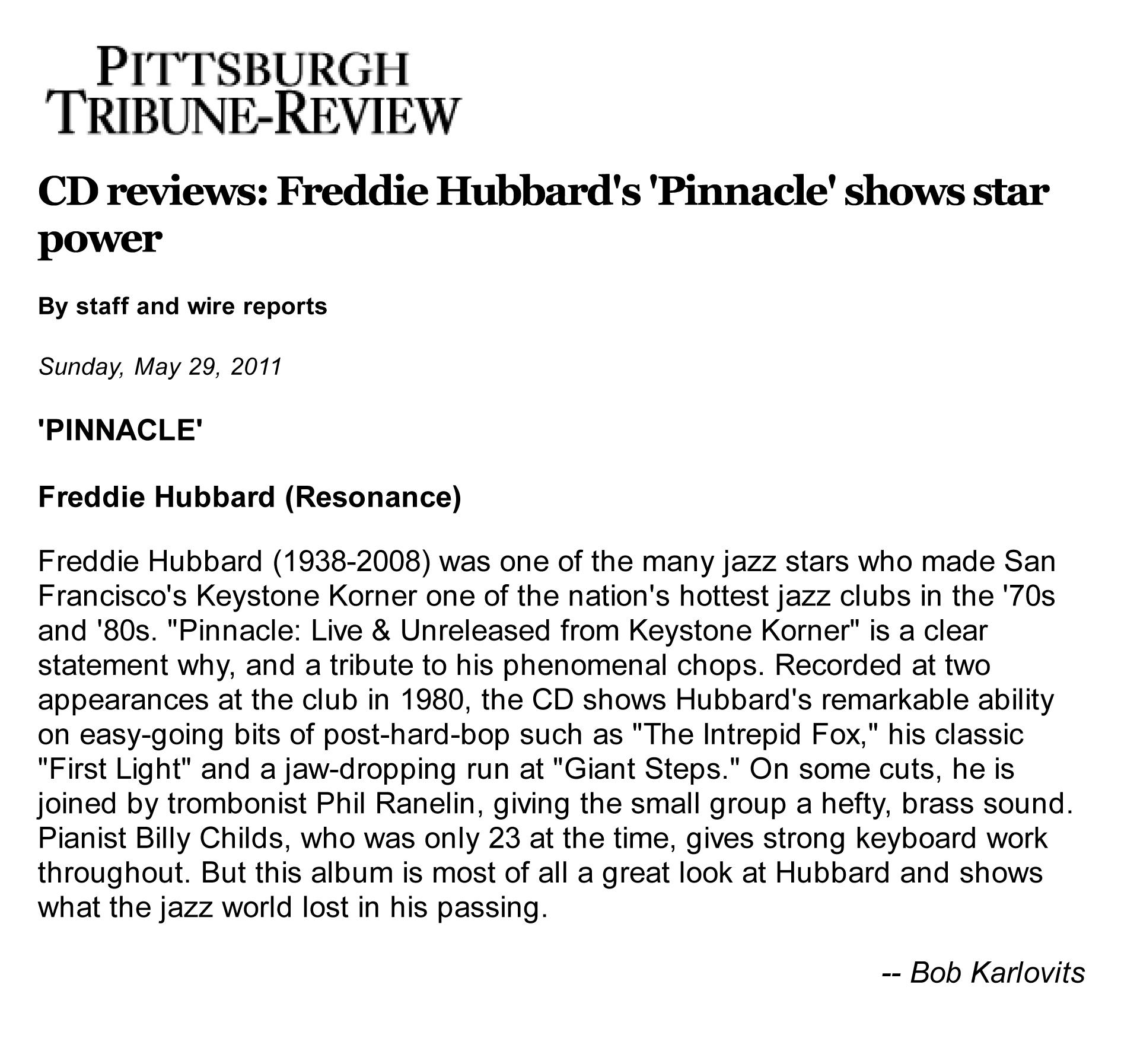 Freddie Hubbard's quote #5