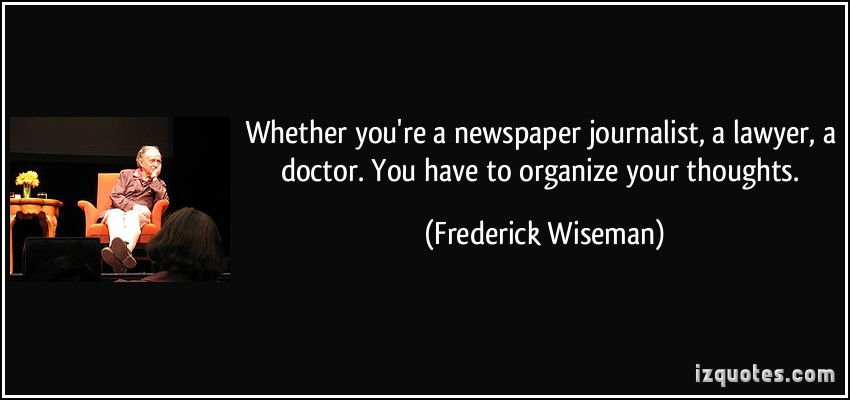 Frederick Wiseman's quote #1