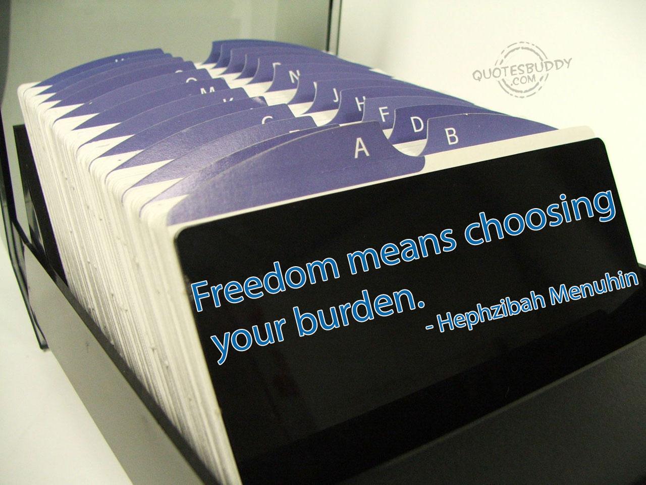 Freedom quote #7