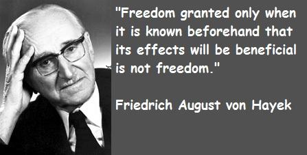 Friedrich August von Hayek's quote #3