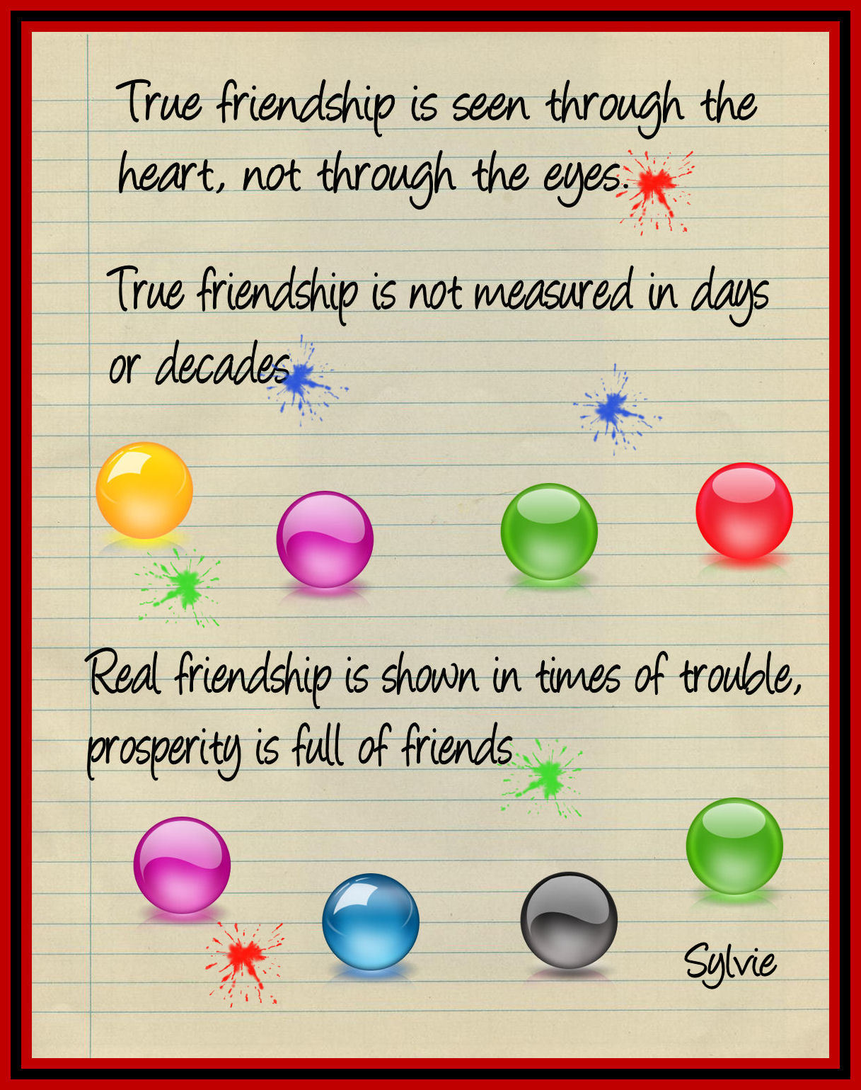 Friendship quote #1