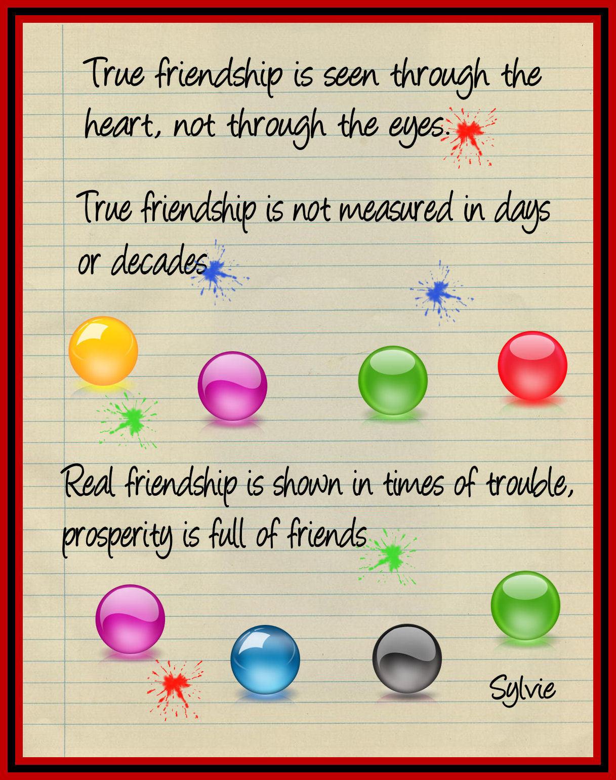 Friendship quote #1