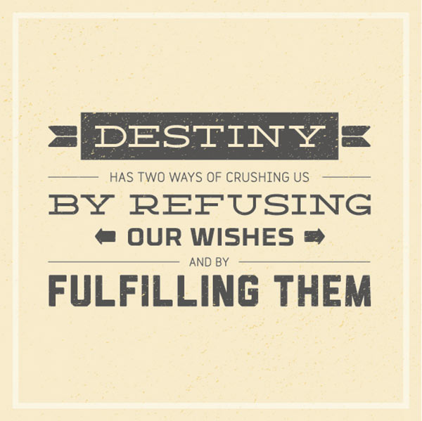 Fulfilling quote #1