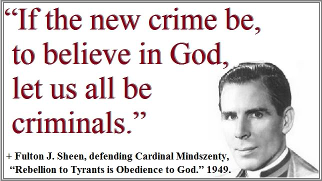 Fulton J. Sheen's quote #1