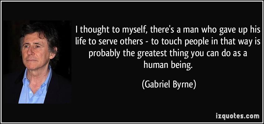 Gabriel Byrne's quote #7