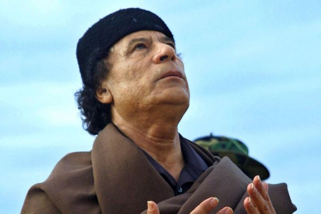Gaddafi quote