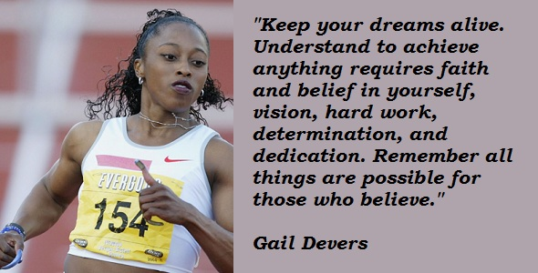 Gail Devers's quote #6