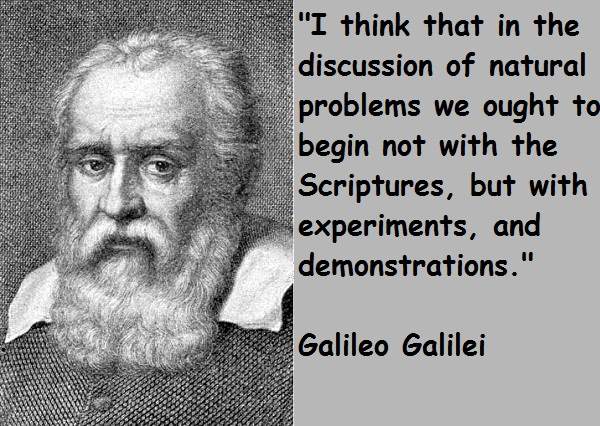 Galileo Galilei's quote #1