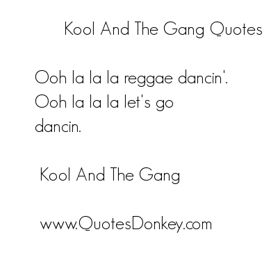 Gang quote #6
