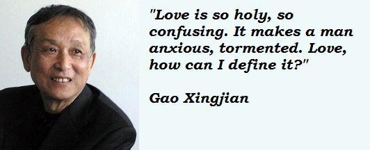 Gao Xingjian's quote