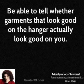 Garments quote #1