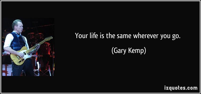 Gary Kemp's quote #5