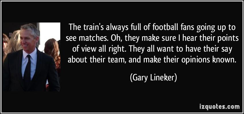 Gary Lineker's quote #7