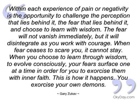 Gary Zukav's quote #5