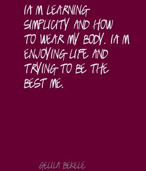 Gelila Bekele's quote #3