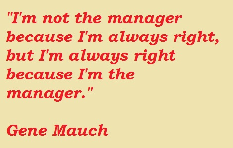 Gene Mauch's quote #2