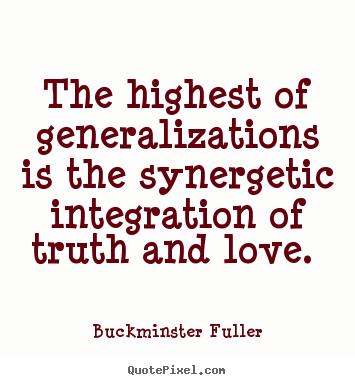 Generalizations quote #1