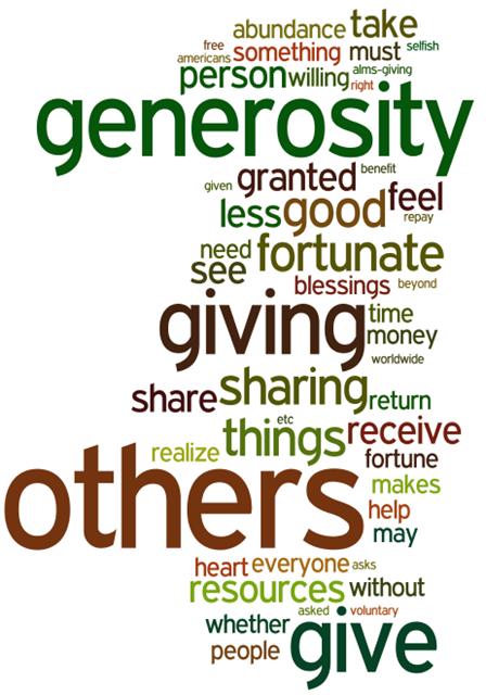 Generosity quote #4
