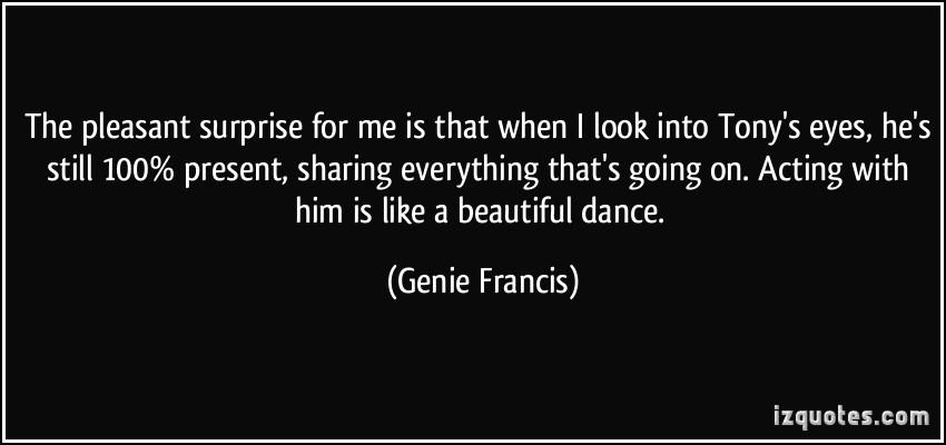 Genie Francis's quote #6