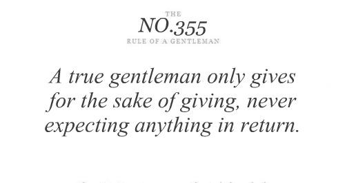 Gentleman quote #1