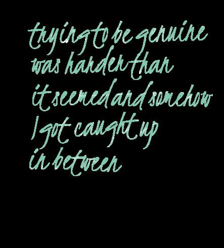 Genuine quote #5