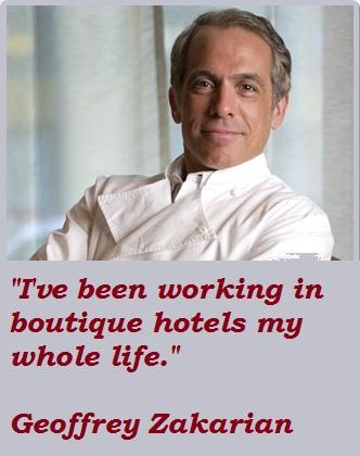 Geoffrey Zakarian's quote