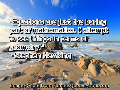 Geometry quote #5