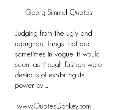 Georg Simmel's quote #2