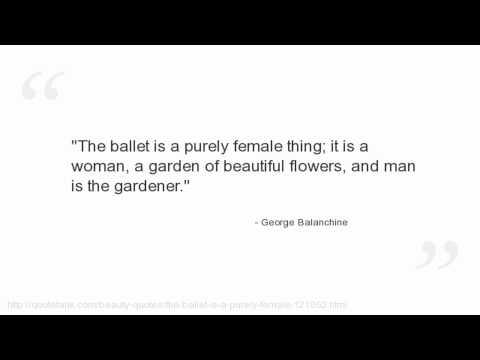 George Balanchine's quote #3