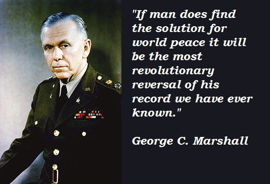 George C. Marshall's quote #4