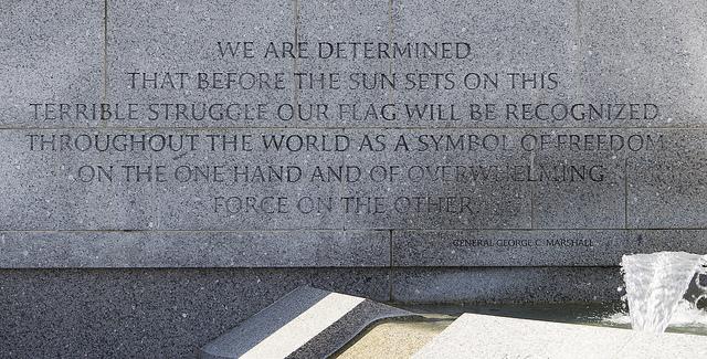 George C. Marshall's quote #1