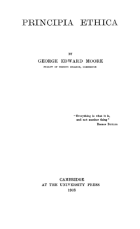 George Edward Moore's quote