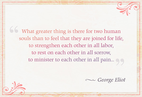George Eliot's quote #4