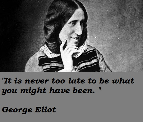 George Eliot's quote #3