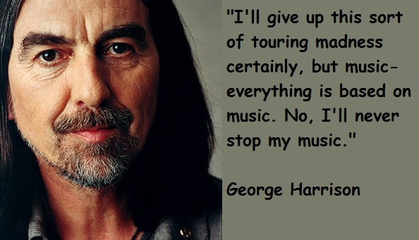 George Harrison quote #2